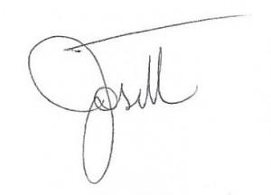 Signature - Josette